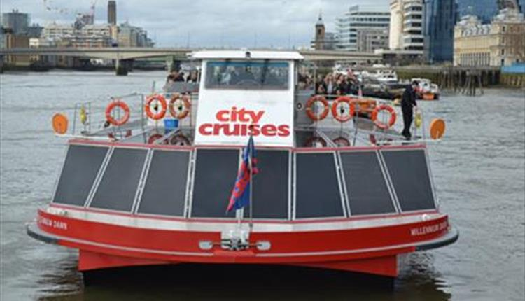 City Cruises on the River Thames in London