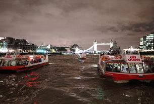 Thames Christmas Parties with City Cruises