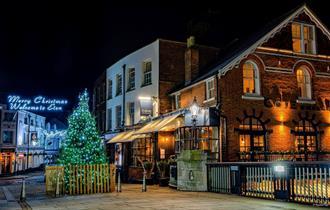 Eton Christmas Lights