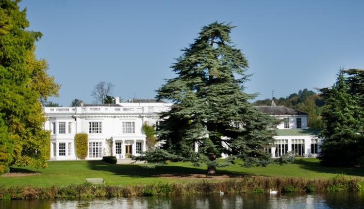 Henley Greenlands House on the banks of the River Thames near Henley on Thames