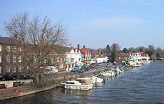 Henley Moorings (courtesy Henley Town Council)
