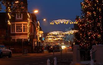 Marlow at Christmas