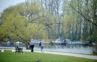 River Thames, Molesey, courtesy Elmbridge Borough Council