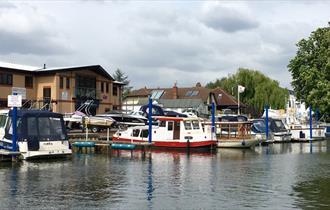Thames Boat House at Walton Marina