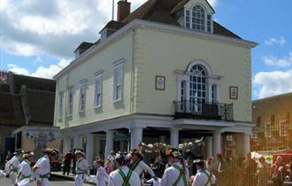 Morris Dancers at Market House