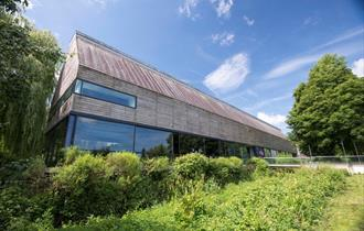 Front view of River & Rowing Museum