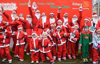 Reading Santa Charity Run