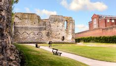 The Abbey ruins and Reading Gaol