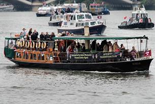 Vintage steam boat.