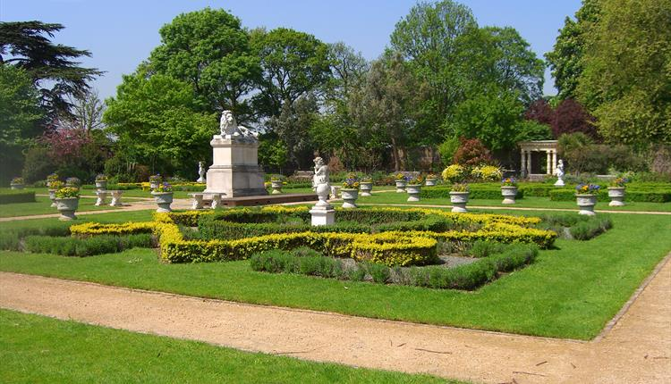 Sunbury Walled Garden, courtesy Spelthorne Borough Council