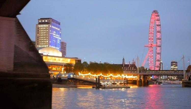 London's Erasmus New Year's Eve Cruise with City Cruises