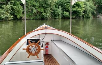 Boating at the Macdonald Compleat Angler