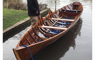 Boat restored on the Thames
