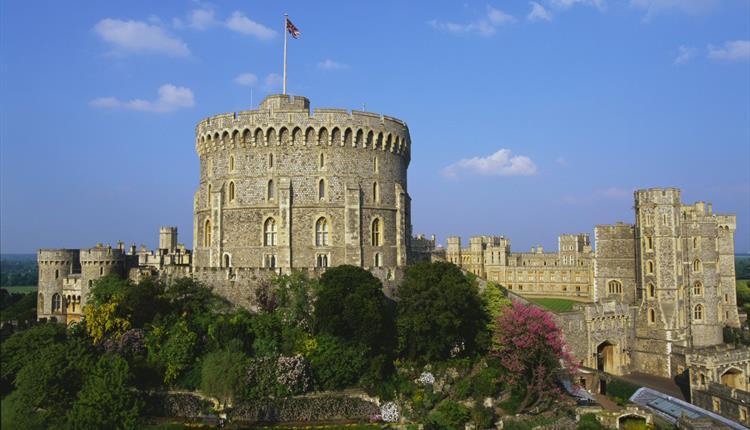 Windsor Castle's Round Tower (daytime) – photographer: John Freeman, Royal Collection Trust / © Her Majesty Queen Elizabeth II 2018