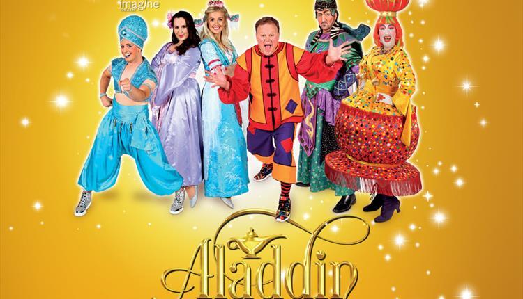 Aladdin Pantomime at Hexagon Centre, Reading