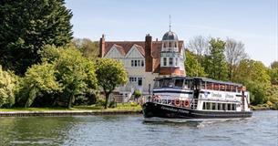 Caversham Princess cruising on the Thames near Reading.