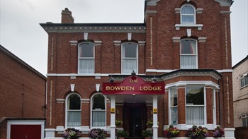 Front of Bowden Lodge