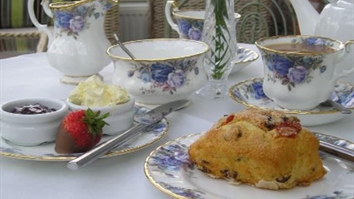 Afternoon Tea at Peel Hey