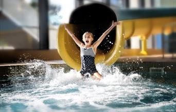 Waves Leisure Pool flume, Torquay