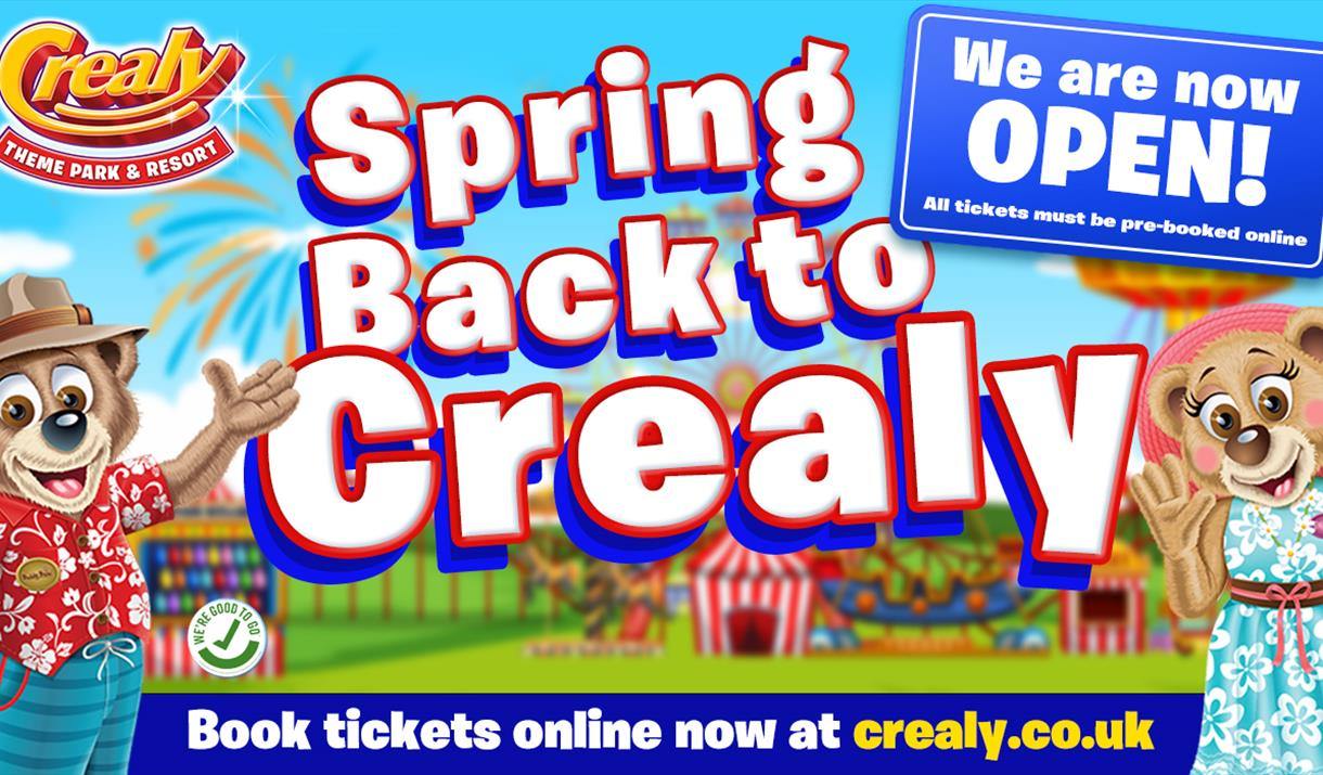 Spring back to Crealy