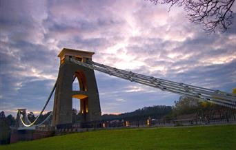 Clouds over Clifton Suspension Bridge Bristol - CREDIT GARY NEWMAN