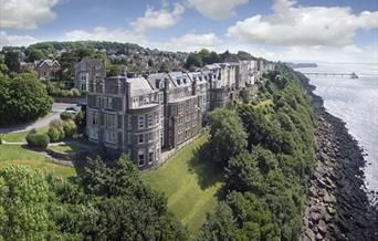 Walton Park Hotel aerial view