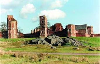 The ruins of Bradgate House