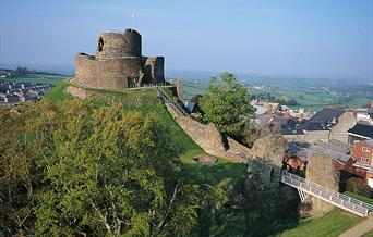 Launceston Castle, Cornwall, supplied by English Heritage copyright