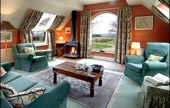 Example of Lounge in one of Cottages