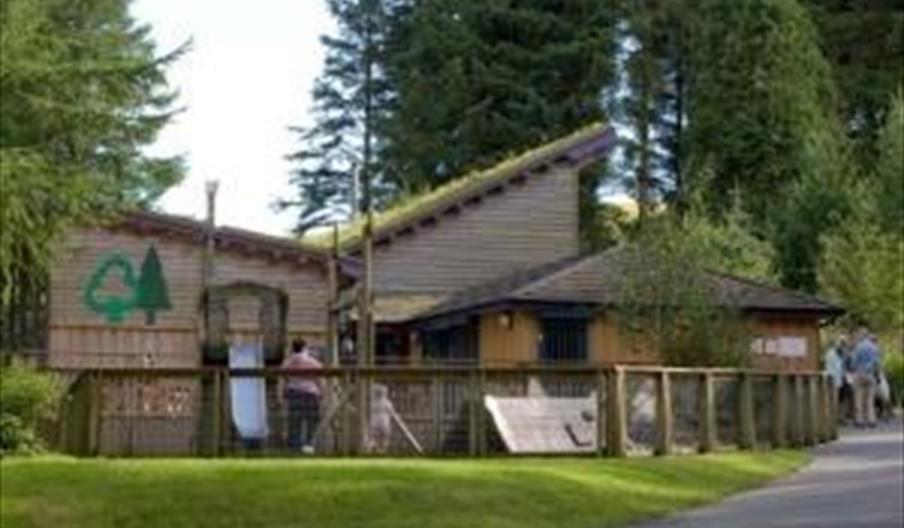Bwlch Nant Yr Arian Visitor Centre (NRW)