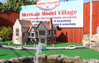 Entrance to Merrivale Model Village