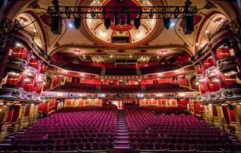 Bristol Hippodrome theatre inside