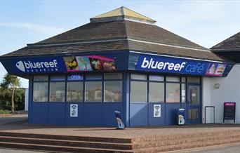 Exterior image of the café.