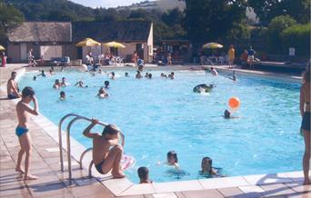 Chagford Swimming Pool, Dartmoor