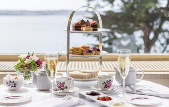 Afternoon Tea at The Imperial Hotel, Torquay, Devon