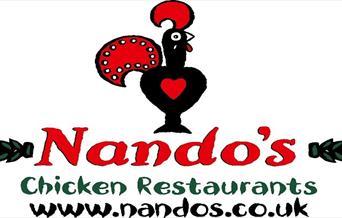 Nando's sign.