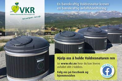 VKR - Abfallsortierungsanlagen in Valdres|