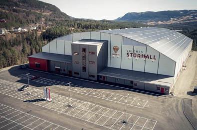 Valdres Storhall i Leira byr på en rekke aktiviteter.|
