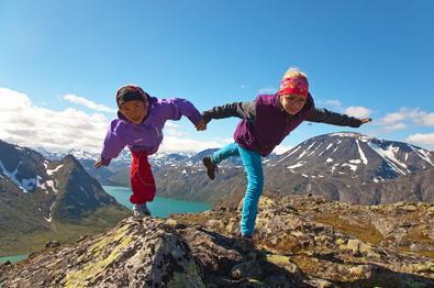 On the summit of Knutshøe.
