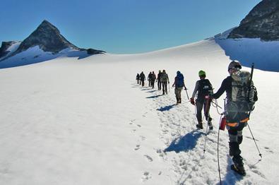 Geführte Bergtouren in Jotunheimen.