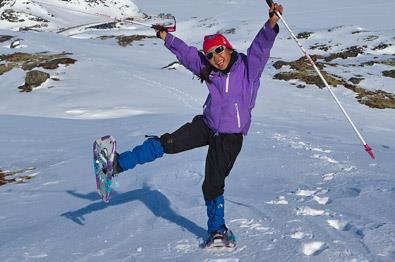Durchblättern nach Schneeschuhtouren