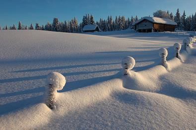 Vintereventyr ved Timannstølen.