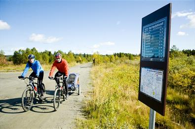 Thumbnail for Cycling at Golsfjellet