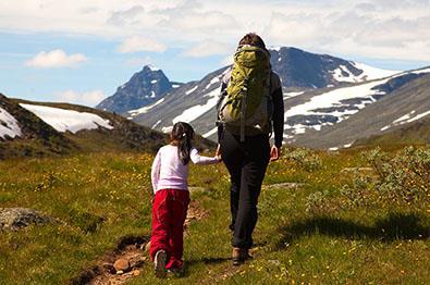 Vandring i Heimre Fagerdalen, Jotunheimen