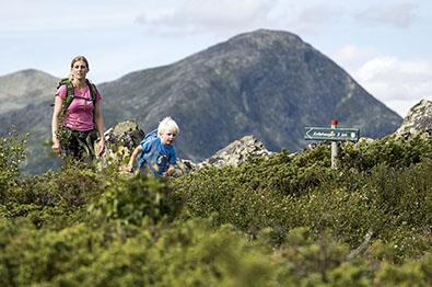 Durchblättern nach Stølsruta - Historisk vandrerute
