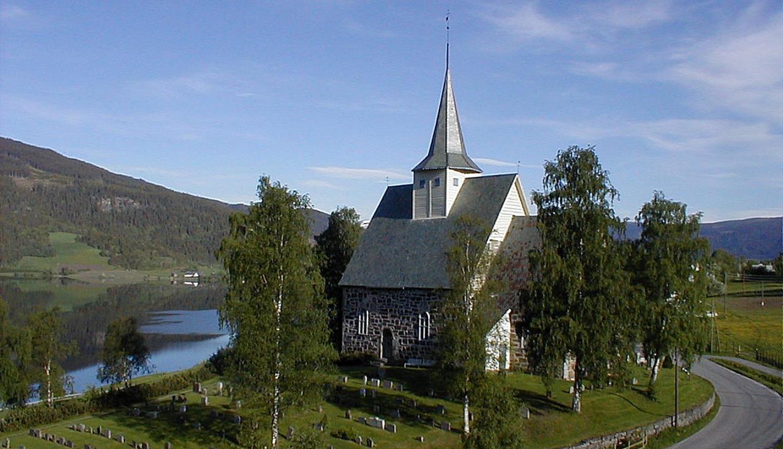 Slidredomen, Vestre Slidre, Valdres, Oppland, FjellNorge, Kirke, Middelalderkirke