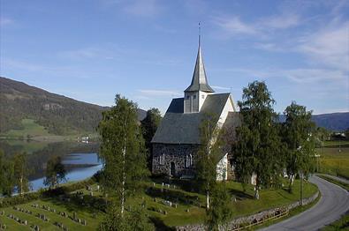 Slidredomen, Vestre Slidre, Valdres, Oppland, FjellNorge, FjellNorway, Church