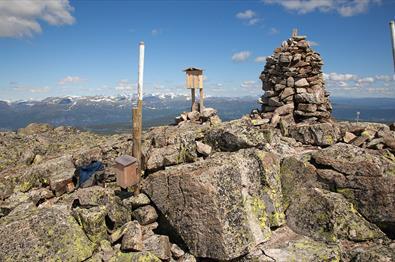 Gipfelwarte auf dem Gilafjell