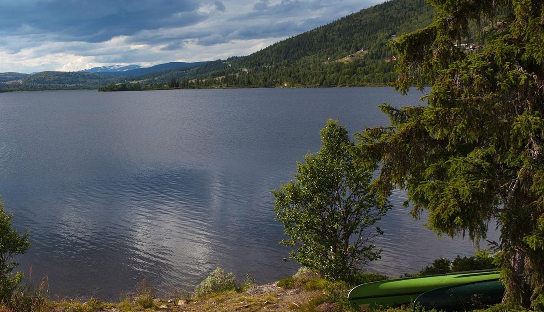 Der See Vasetvatnet