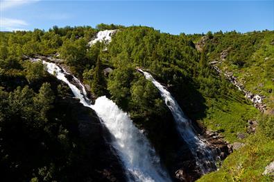 Sputrefossen Waterfall